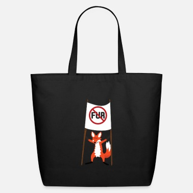Fur No Fur - Eco-Friendly Tote Bag
