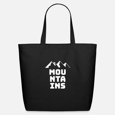 Mountains mountains - Eco-Friendly Tote Bag