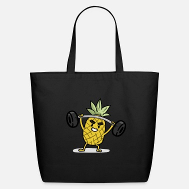 Cardio Pineapple - Eco-Friendly Tote Bag