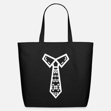 Necktie Christmas Necktie - Eco-Friendly Tote Bag