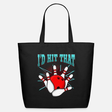 Bowling League Bowling League Club Bowler Gift - Eco-Friendly Tote Bag
