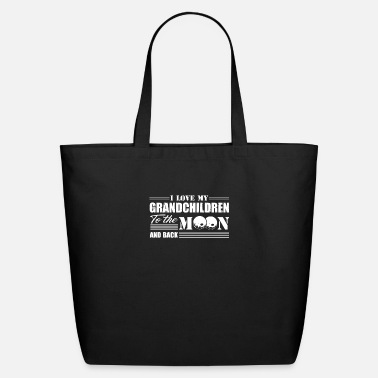 I Love My Grandchildren To The Moon And Back I Love My Grandchildren To The Moon And Back Shirt - Eco-Friendly Tote Bag