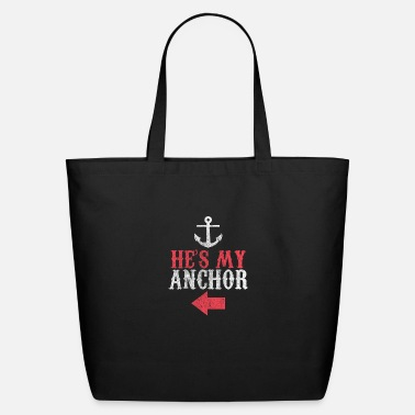 Couple Love Anker Geschenk Idee - Eco-Friendly Cotton Tote