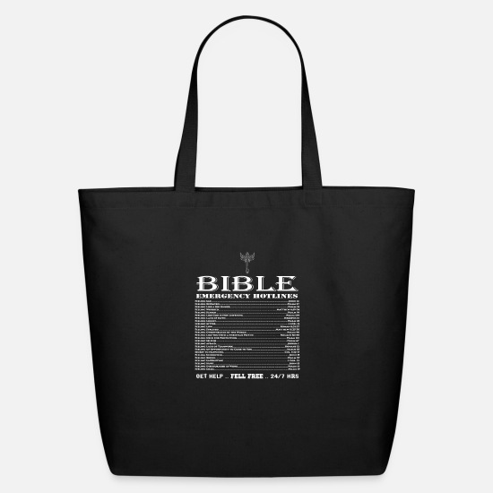 Cool Christian Bags & Backpacks - 540 Cool Christian Shirts - Eco-Friendly Tote Bag black
