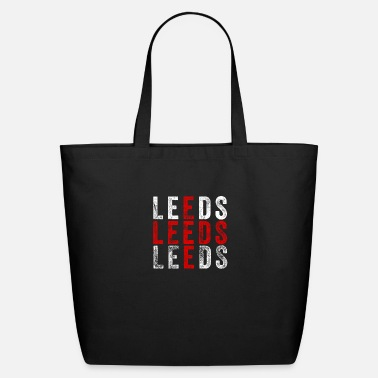 Leeds Leeds design | Leeds England Flag graphic | U.K. - Eco-Friendly Tote Bag