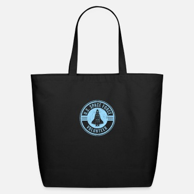 Space U.S. Space Force Volunteer graphic - USSF designs - Eco-Friendly Tote Bag