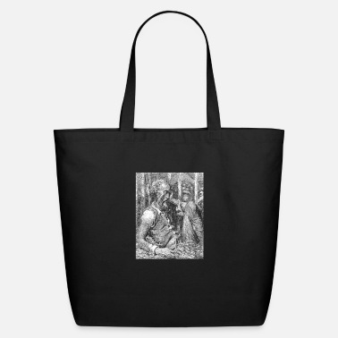 Don Quijote Don Quixote graphic | Quijote by Cervantes - Fine - Eco-Friendly Tote Bag