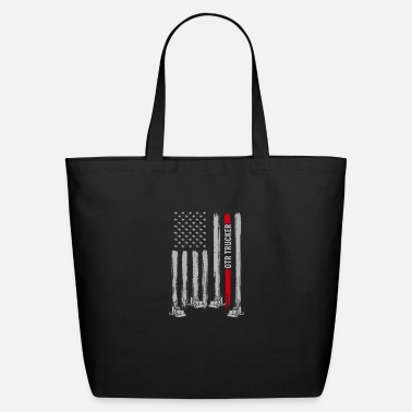 OTR Trucker USA America Flag Father's Day Gift - Eco-Friendly Tote Bag