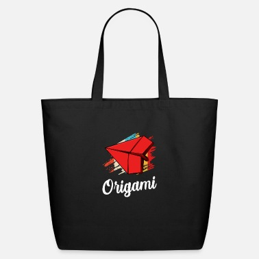 Origami origami - Eco-Friendly Tote Bag