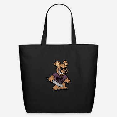 Amok BSK Amok bear front - Eco-Friendly Tote Bag