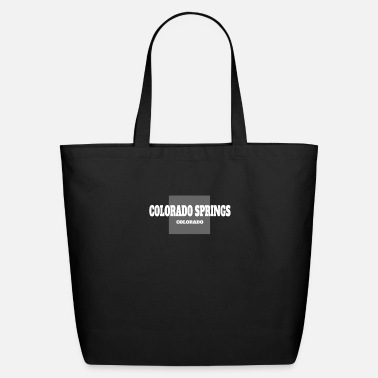 State COLORADO COLORADO SPRINGS US STATE EDITION - Eco-Friendly Tote Bag