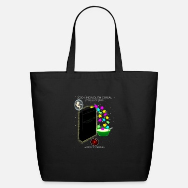 Jeopard 2001: Monolith Cereal - Eco-Friendly Tote Bag