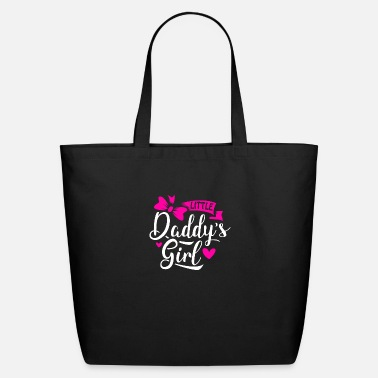 Girl Little Daddys Girl - Eco-Friendly Tote Bag