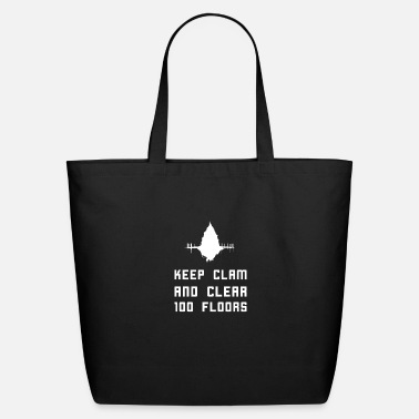 Clam Keep clam and clear 100 floors - Eco-Friendly Tote Bag