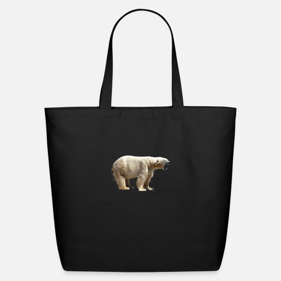 Grizzly Bags & Backpacks - polar bear eisbaer nordpol north pole alaska11 - Eco-Friendly Tote Bag black