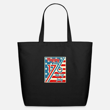 Hammer Happy 4th Of July 1776 Independence Day - Eco-Friendly Tote Bag
