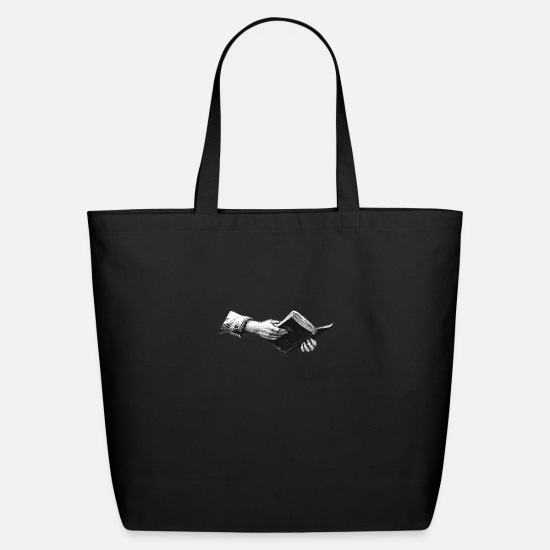 Book Bags & Backpacks - Book - Eco-Friendly Tote Bag black