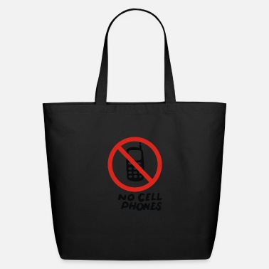 Cell No Cell Phones - Eco-Friendly Tote Bag