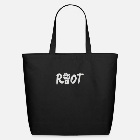 Geek Bags & backpacks - Riot - Eco-Friendly Tote Bag black