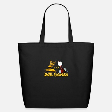Movies I Love Bad Movies - Mystery Science Theater 3000 - Eco-Friendly Tote Bag