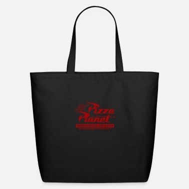 Planet Pizza Planet - Eco-Friendly Tote Bag