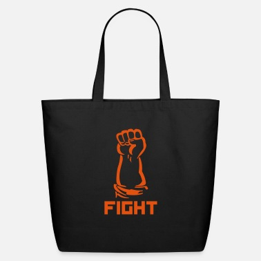 Provocation fighting fist - Eco-Friendly Tote Bag
