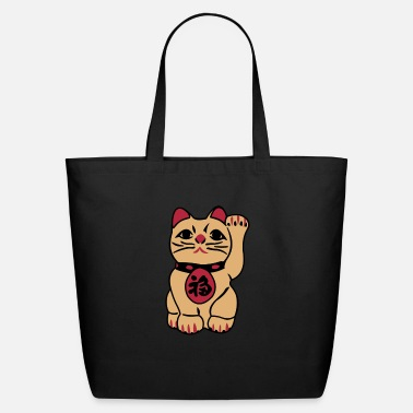 Animal good fortune cat - Eco-Friendly Tote Bag