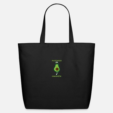 Brother Yoga Avocado Namaste Funny Gift Idea - Eco-Friendly Tote Bag