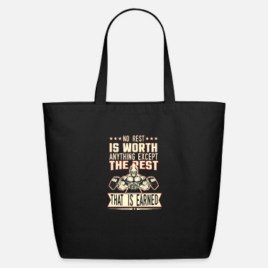 Rest No rest - Eco-Friendly Tote Bag