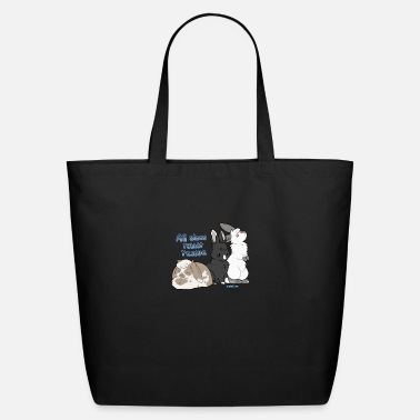 Domestic Rabbit Rabbit logo - Eco-Friendly Tote Bag