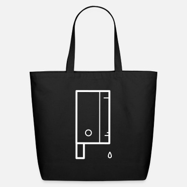 Scary Monster Halloween Knief - Eco-Friendly Tote Bag