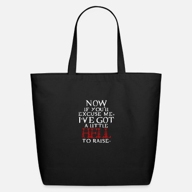 Supernatural Supernatural Winchester Brothers Sam and Dean Excu - Eco-Friendly Tote Bag