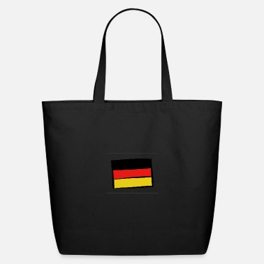 Schland Germany Deutschland flag black red yellow german - Eco-Friendly Tote Bag