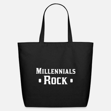 Millennials Millennials Rock - Eco-Friendly Tote Bag
