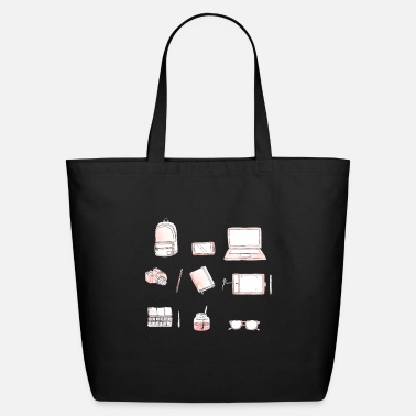 Wacombambootablet my kind of essentials png - Eco-Friendly Tote Bag