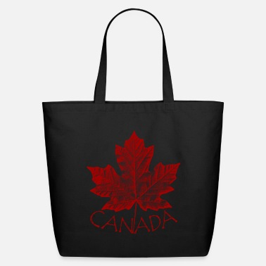 Leaf Canada Souvenirs Canadian Maple Leaf Gifts - Eco-Friendly Tote Bag