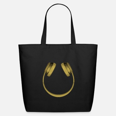 Smiley Headphones smile headphones smiley - Eco-Friendly Tote Bag