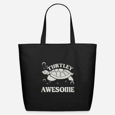 Biology Sea Turtle Lover Turtley Awesome Turtle Lover - Eco-Friendly Tote Bag