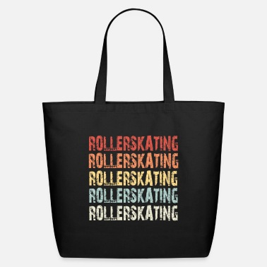 Retro Rollerskating - Eco-Friendly Tote Bag