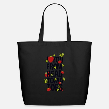 Couples I Love You From Head Tomatoes - Eco-Friendly Tote Bag