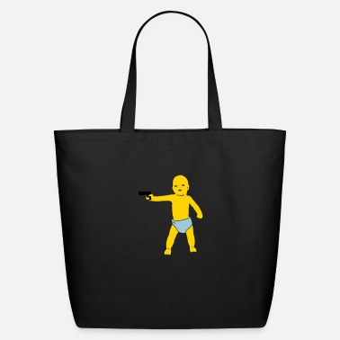 Gang baby gun - Eco-Friendly Tote Bag
