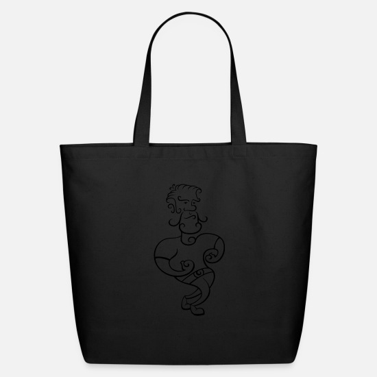 Brutal Bags & Backpacks - man - Eco-Friendly Tote Bag black