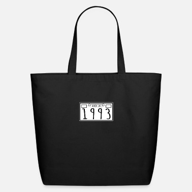 Birthday Gift - Made In 1993 - Plate Number - Eco-Friendly Tote Bag