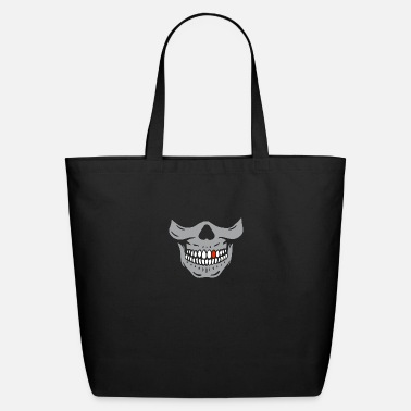 Red Tooth Skull - Eco-Friendly Tote Bag