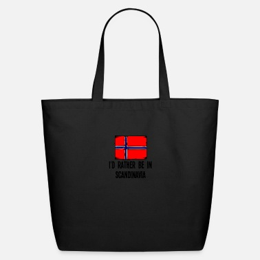 Scandinavia I'd Rather Be In Scandinavia - Eco-Friendly Tote Bag