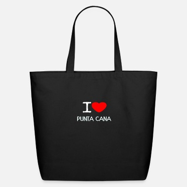 Punta Cana I LOVE PUNTA CANA - Eco-Friendly Tote Bag