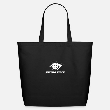 Investigacion Detective Eye Magnifying Glass- Gift Idea - Eco-Friendly Tote Bag
