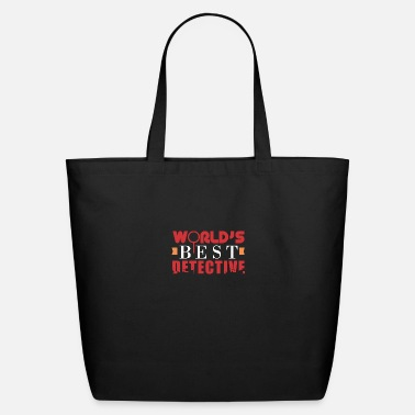 Investigacion Detective - World's Best Detective - Gift Idea - Eco-Friendly Tote Bag