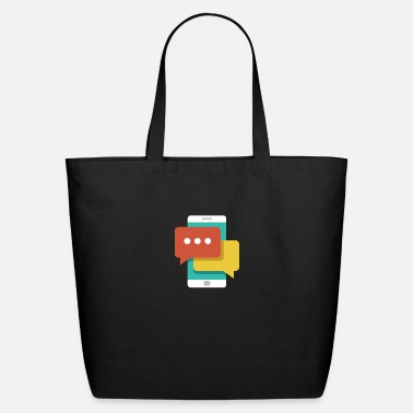 Text Message Text Messaging - Eco-Friendly Tote Bag