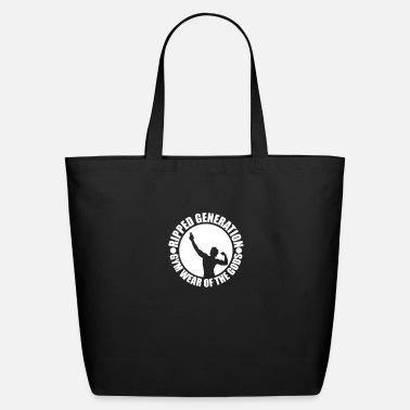 7 Ripped Generation Gym Wear of the Gods Badge Logo - Eco-Friendly Tote Bag